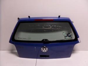 VW polo 1999-2002 πίσω πόρτα μπλέ (3ή-5ή)