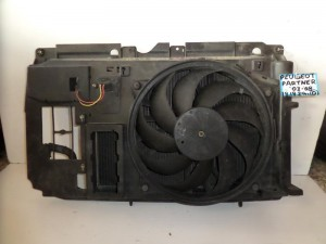 Peugeot partner 03-08 1.9cc diesel ψυγείο κομπλέ (νερού-aircondition-βεντιλατέρ-μετώπη)