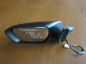 Mazda CX-7 2007-2012 ηλεκτρικός ανακλινόμενος καθρέφτης αριστερός μολυβί (10 καλώδια)
