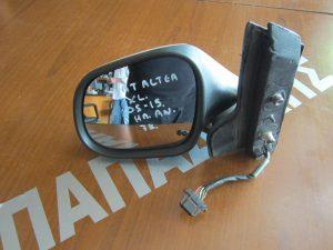 Seat Altea XL 2005-2015 καθρέπτης αριστερός ηλεκτρικά ανακλινόμενος άσπρος