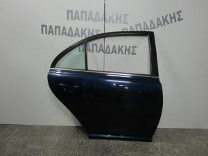 Toyota Avensis 2003-2009 πόρτα πίσω δεξιά μπλε Sedan