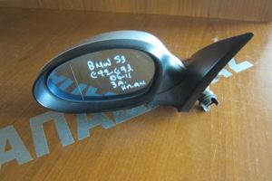 Bmw S3 E92/93 2006-2011 καθρέπτης αριστερός ηλεκτρικά ανακλινόμενος ασημί 3 ακίδες