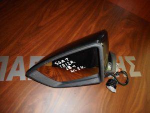 Seat Ibiza 2018->καθρέπτης αριστερός ηλεκτρικός 5 καλώδια μαύρος