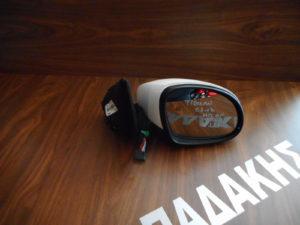VW Tiguan 2007-2016 δεξιός καθρέπτης ηλεκτρικά ανακλινόμενος άσπρος 13 καλώδια φως ασφαλείας