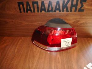 VW Golf 6 2008-2013 φανάρι πίσω αριστερό φιμέ