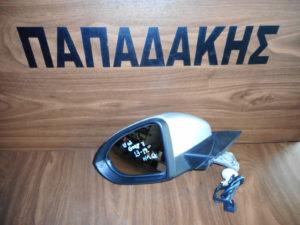 VW Golf 7 2013-2019 ηλεκτρικός καθρέπτης αριστερός ασημί 6 καλώδια