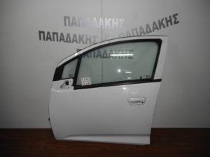 Chevrolet Spark 2010-2015 πόρτα εμπρός αριστερή άσπρη