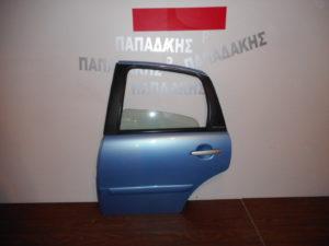 Citroen C3 2002-2009 πόρτα πίσω αριστερή γαλάζια