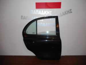 Nissan Micra K12 2003-2010 πόρτα πίσω δεξιά μαύρη