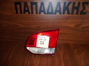 VW Golf 6 2008-2013 φανάρι πίσω δεξιό εσωτερικό