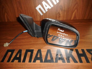 Ford Mondeo 2007-2011 ηλεκτρικός καθρέπτης δεξιός μαύρος 6 καλώδια φως ασφαλείας