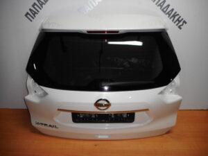 Nissan X-Trail 2014-2017 και 2017-> οπίσθια πόρτα (5η) άσπρη