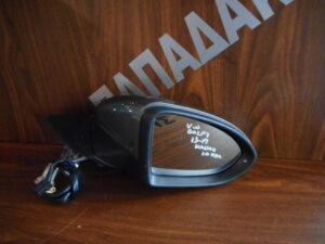 VW Golf 7 2013-2019 ηλεκτρικός ανακλινόμενος καθρέπτης δεξιός μολυβί 10 καλώδια