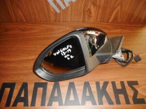 VW Golf 7 2013-2019 ηλεκτρικός καθρέπτης αριστερός μαύρος 6 καλώδια