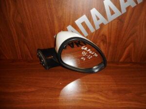 Fiat Grande Punto 2005-2012 ηλεκτρικός καθρέπτης δεξιός άσπρος
