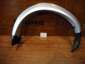 Isuzu D-Max 2002-2007 πίσω δεξιό φρύδι φτερού ασημί