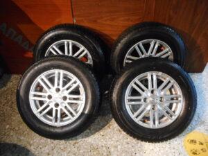 Σετ ζαντολάστιχα Fiat Panda 2003-2012 4 τεμάχια διαστάσεις: 175-70-13